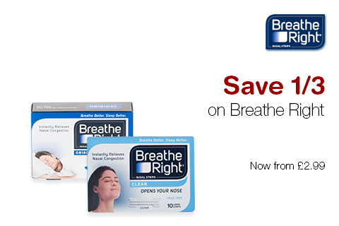 Save 1/3 on Breathe Right