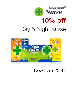 10% off Day & Night Nurse
