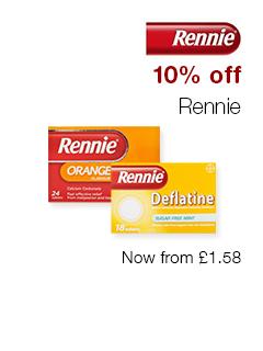 10% off Rennie