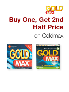 Buy One, Get 2nd Half Price on Goldmax