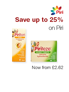 Save up to 25% on Piri