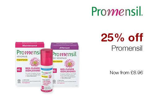 25% off Promensil