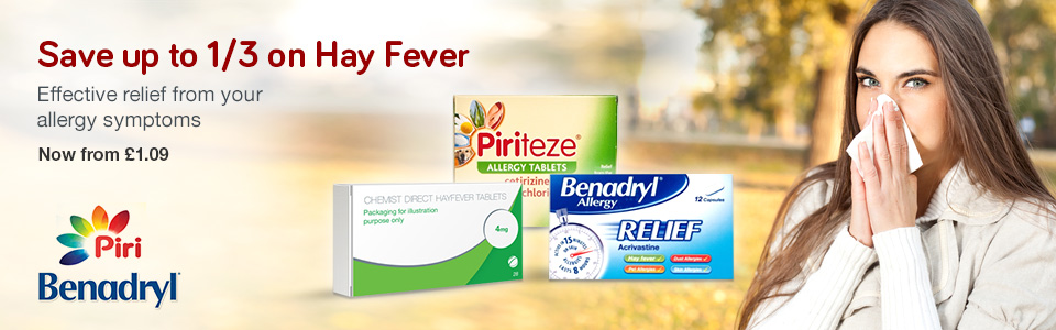 Save 1/3 on Hay Fever