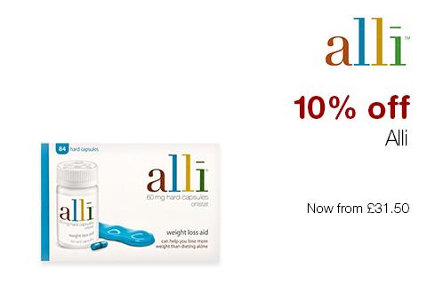 10% off Alli