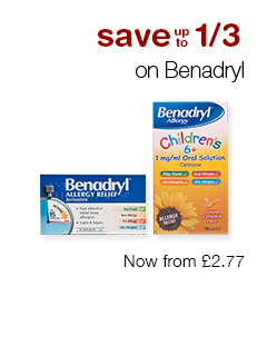 Save up to 1/3 on Benadryl