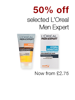 50% off selected L'Oreal Men Expert