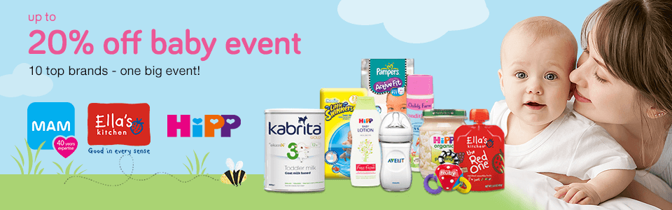 20% Off Baby Event