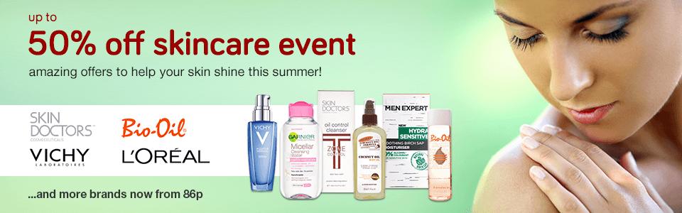 50% Off Skincare Event