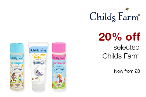 20% off selected Childs Farm