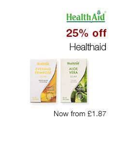 25% off Healthaid