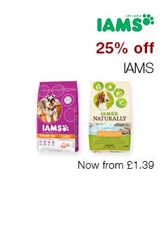 25% off IAMS