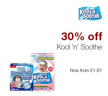 30% off Kool 'n' Soothe