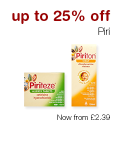 up to 25% off Piri