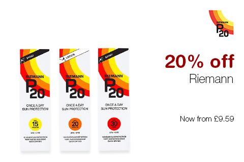 20% off Riemann