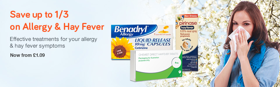 1/3 OFF Hay Fever