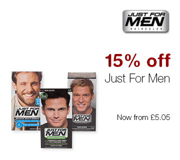 15% off Just For Men