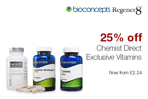 25% off Chemist Direct Exclusive Vitamins