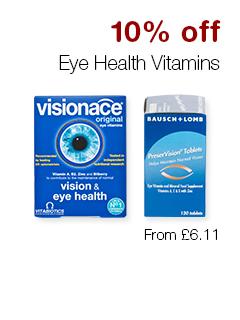 10% off Eye Health Vitamins