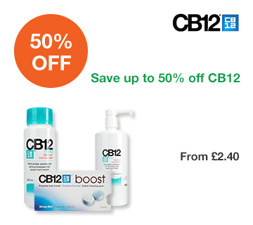 Save up to 50% off CB12