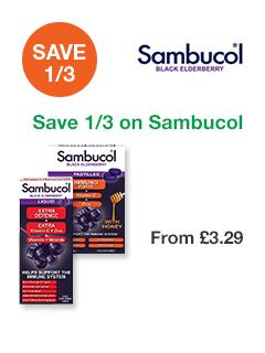 Save 1/3 on Sambucol