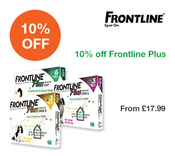 10% off Frontline Plus