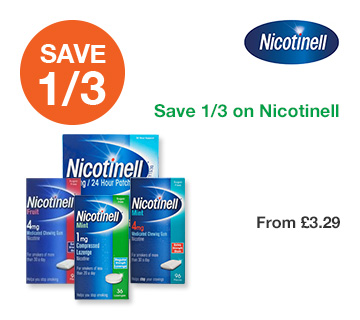 Save 1/3 on Nicotinell