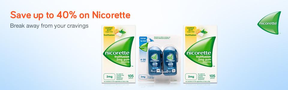 40% Off Nicorette