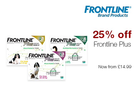 25% off Frontline Plus