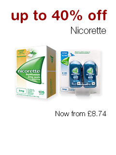 up to 40% off Nicorette