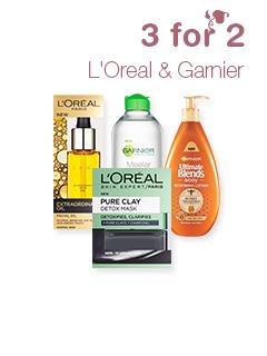 L'Oreal & Garnier