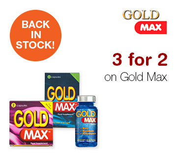 3 for 2 on Goldmax