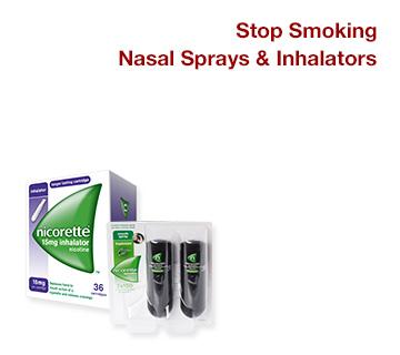 Stop Smoking Nasal Sprays & Inhalators