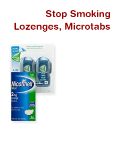 Stop Smoking Lozenges, Microtabs