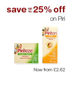 Save up to 25% off  Piri
