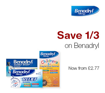 Save 1/3 on Benadryl
