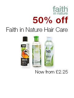 50% off Faith in Nature Hair Care
