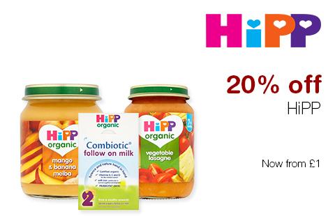20% off HiPP