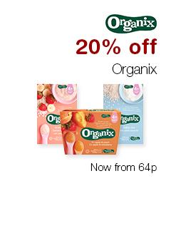 20% off Organix