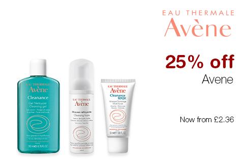 25% off Avene