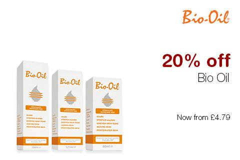 20% off Bio Oil