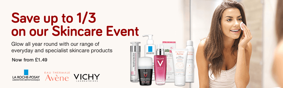 Save 1/3 on Skincare Event