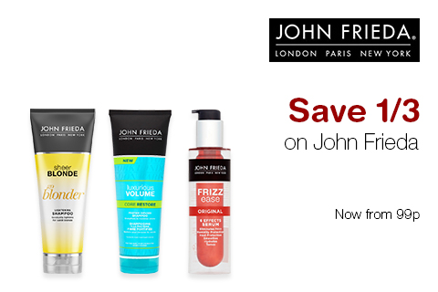 Save 1/3 on John Frieda