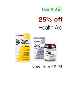 25% off Health Aid