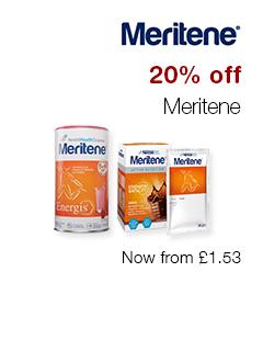 20% off Meritene