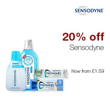 20% off Sensodyne