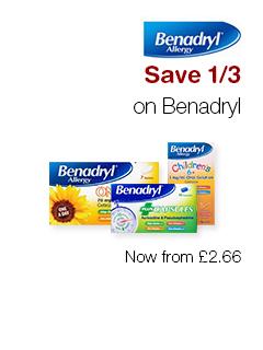 Save 1/3 on Benadryl