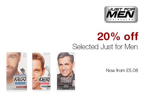 20% off Just for Men