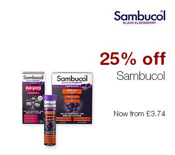 25% off Sambucol