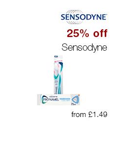 25% off Sensodyne
