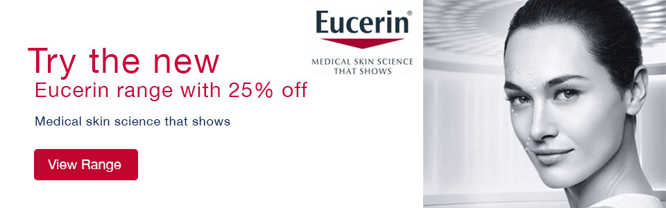25% Off Eucerin